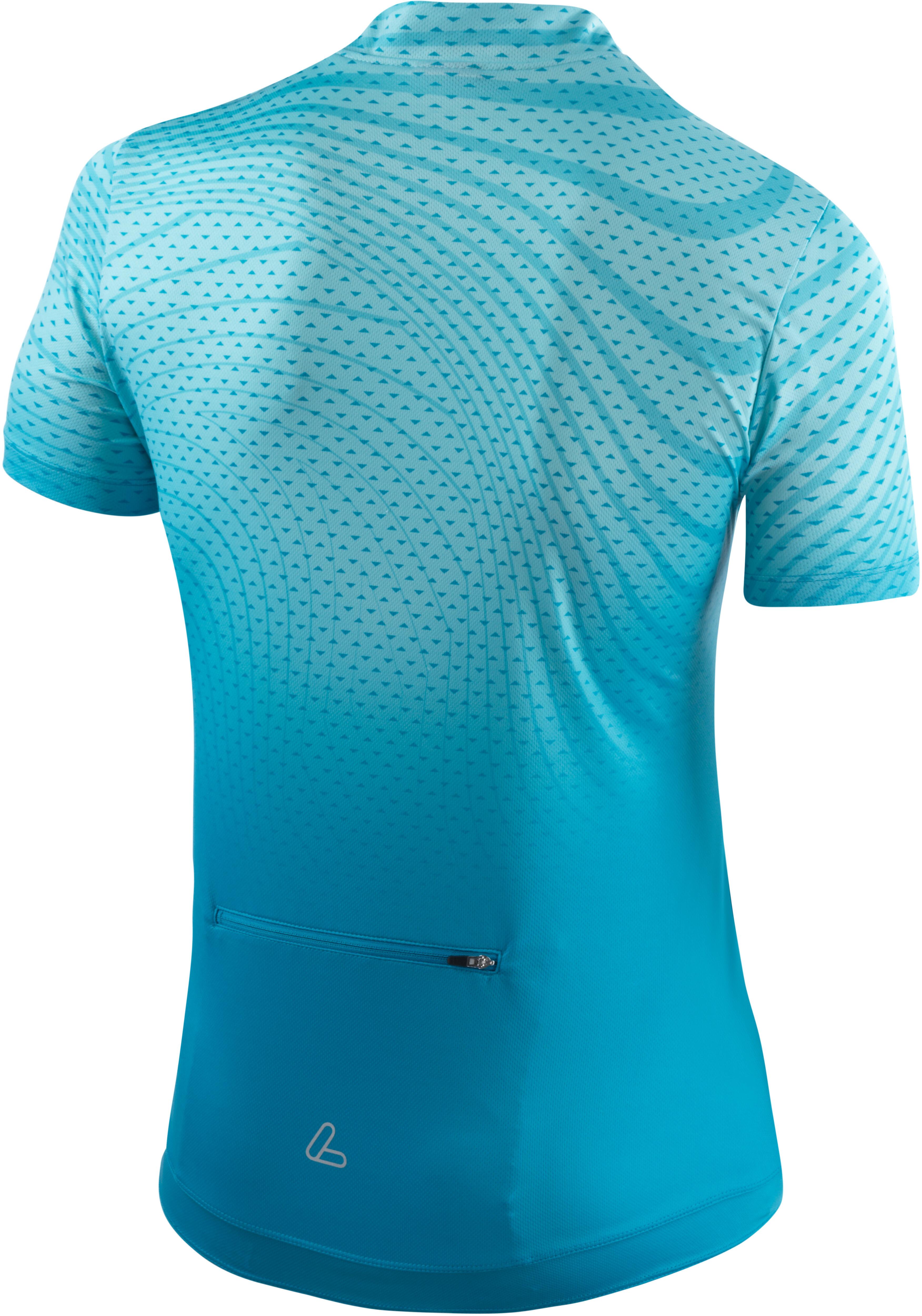 93bc6687e1a Löffler Java Fietsshirt korte mouwen Dames turquoise